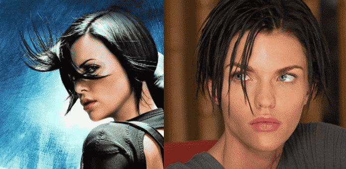 Ruby Rose in the Meg is Aeon Flux