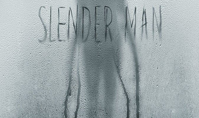 A picture of the 2018 movie poster for Slender Man.