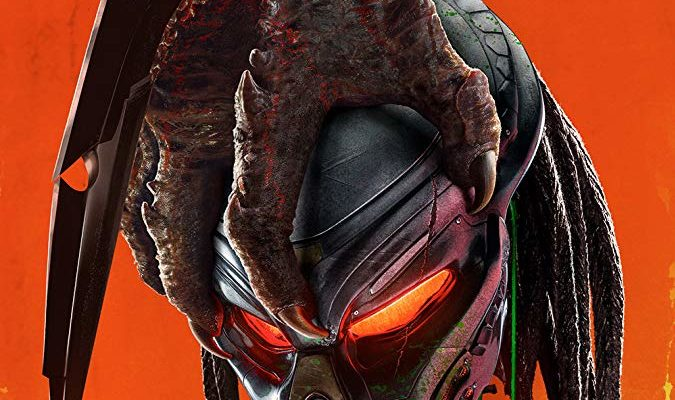 The poster for The Predator, the movie that Horror Movie Talk is reviewing this week.