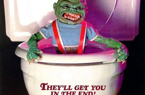 Ghoulies VHS cover scarred Bryce of the Horror Movie Talk podcast