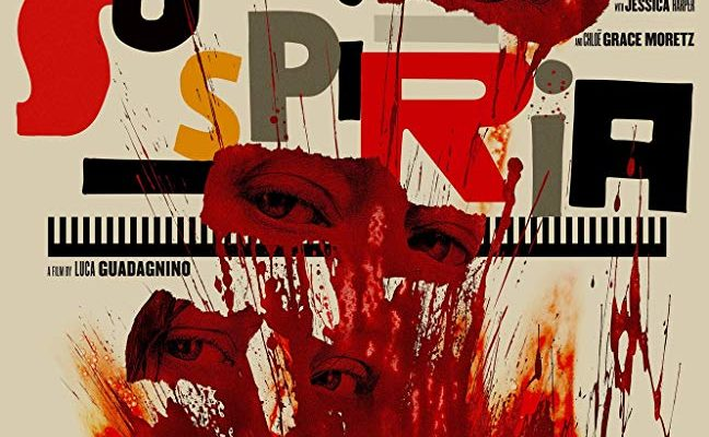 Suspiria (2018) poster, the movie movie being reviewed this week on Horror Movie Talk