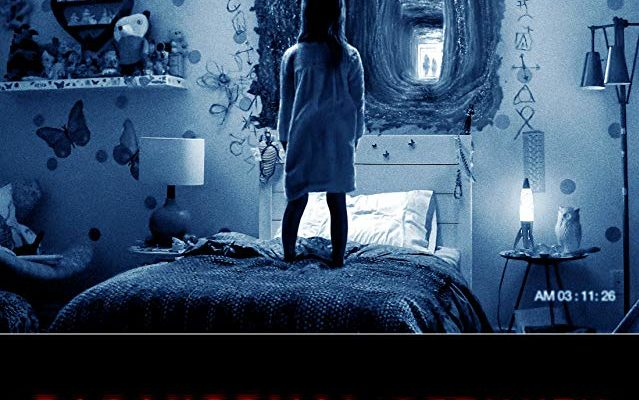 Paranormal Activity Ghost Dimension movie poster
