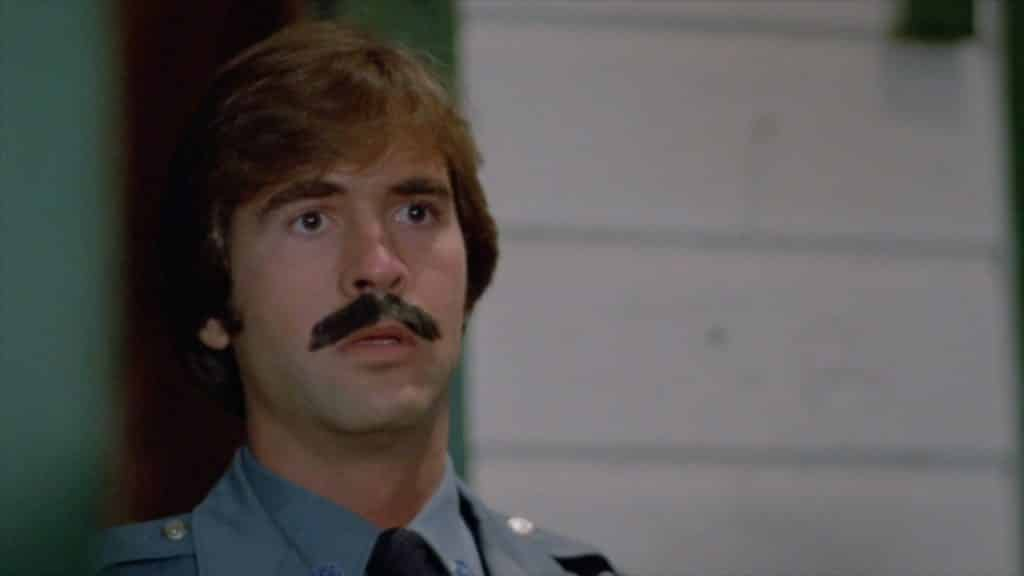 Fakest Mustache in horror