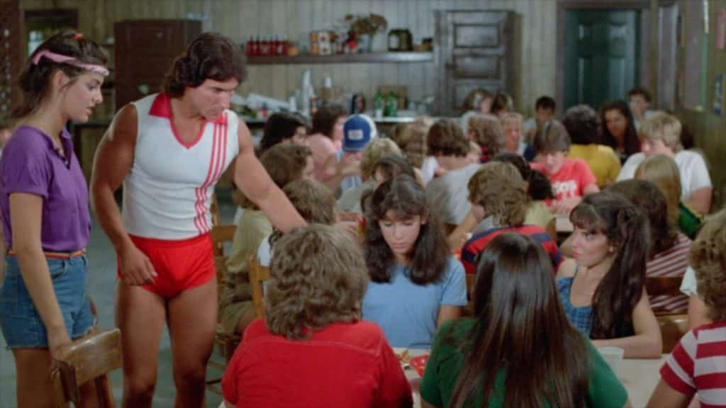 Who wears short shorts? Sleepaway Camp wears short shorts.