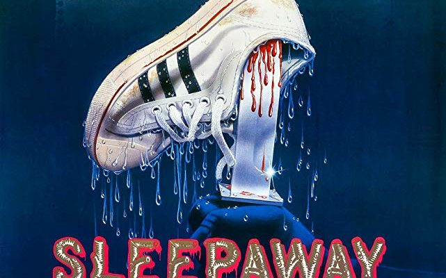 Poster for Sleepaway Camp, a horror movie being reviewed on Horror Movie Talk podcast