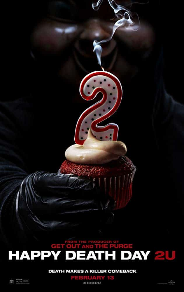 Happy Death Day 2U Poster, a new Horror Movie being reviewed on Horror Movie Talk