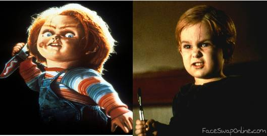 Chucky vs. Gage from the original Pet Sematary