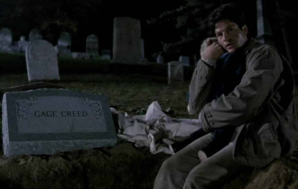 Next to Gage Creed's grave, original Pet Sematary