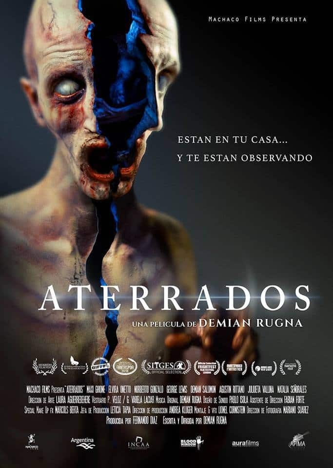 Terrified (Aterrados) movie poster