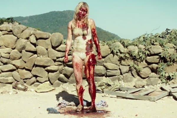 Laura mutilated herself to try and remove the plants from her body in The Ruins.
