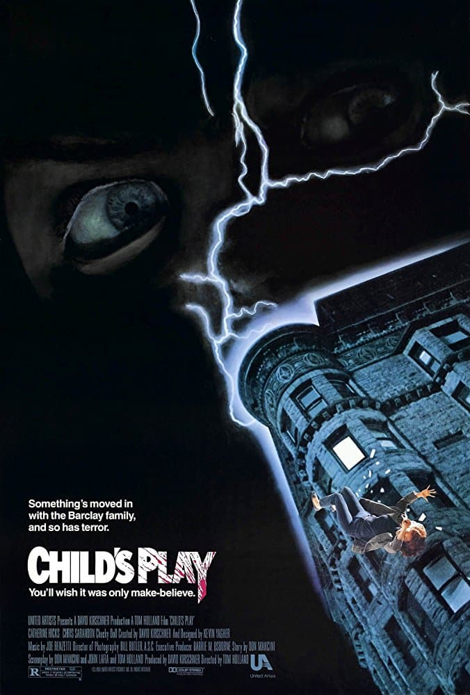 Child's Play 1988 movie poster