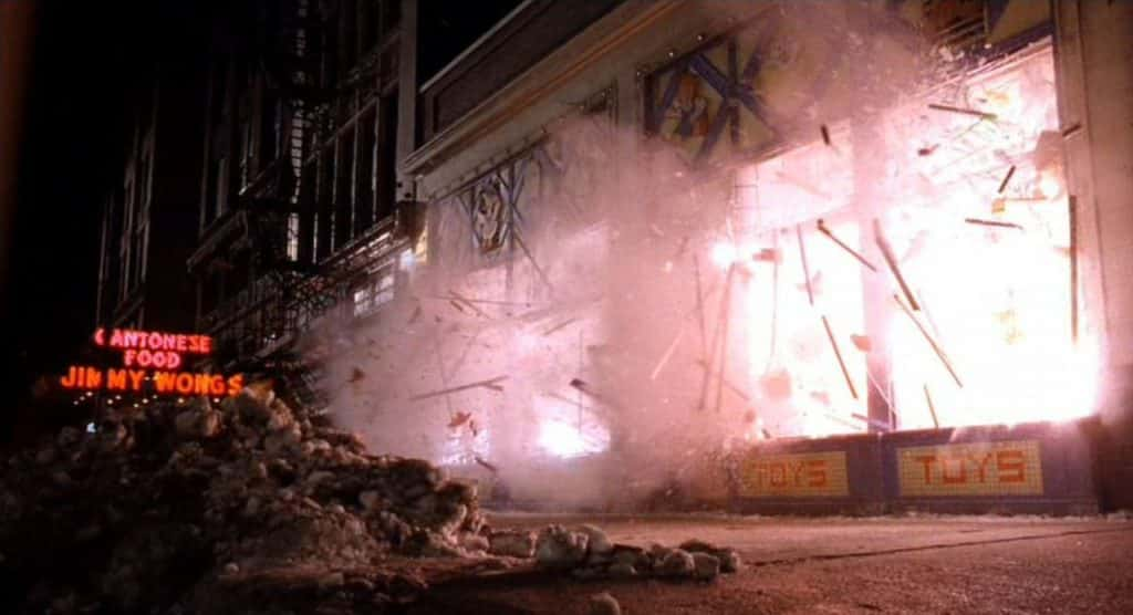Child's Play 1988 toy store explosion