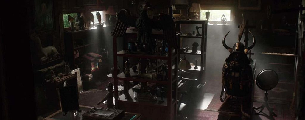 The Warren's artifact room