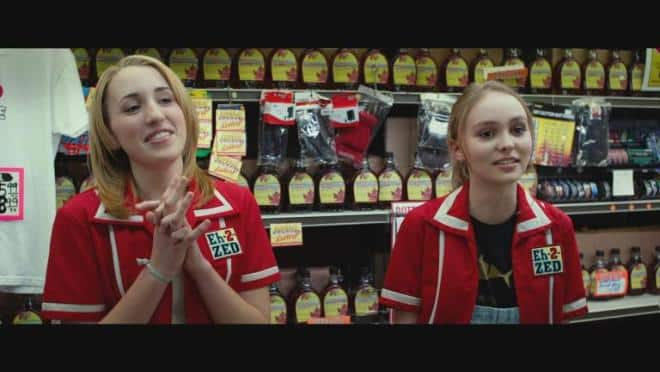Depp and Smith's daughters in Tusk