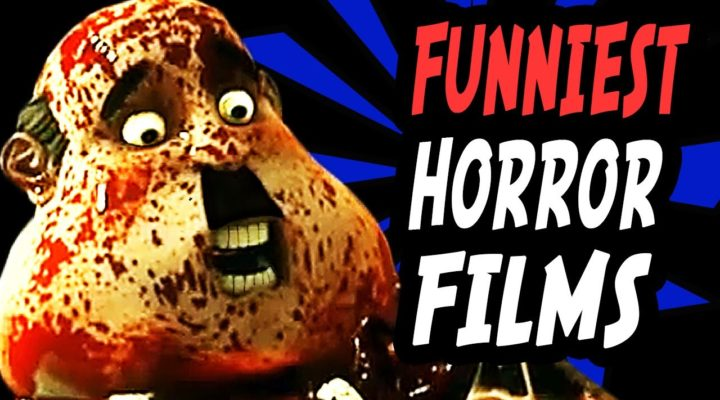 Funniest horror films with a claymation man covered in blood