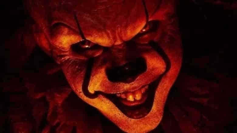 It Chapter Two Pennywise smiling a sinister smile