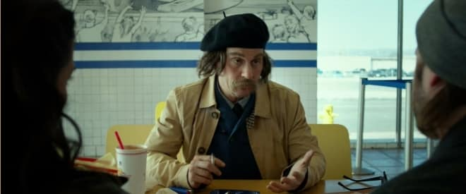 Johnny Depp playing a French-Canadian Detective in Tusk