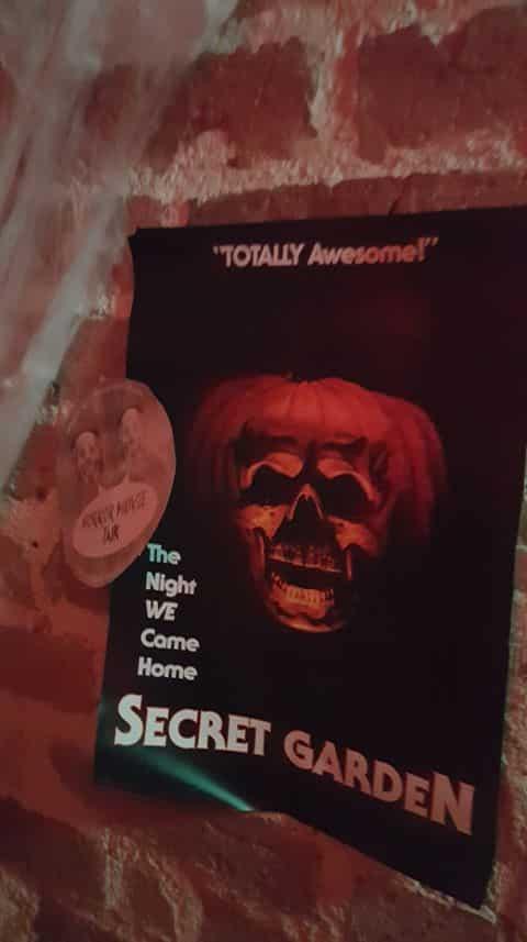 Horror Movie Talk Sticker Secret Garden