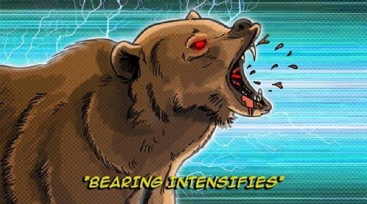 Backcountry Bearing Intensifies Illustration