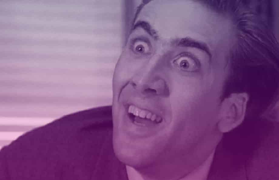 Nicolas Cage Purple