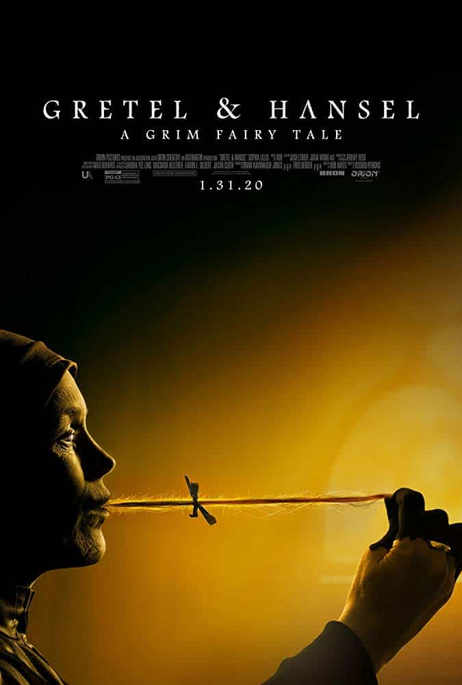 Gretel and Hansel Movie Poster with Witch