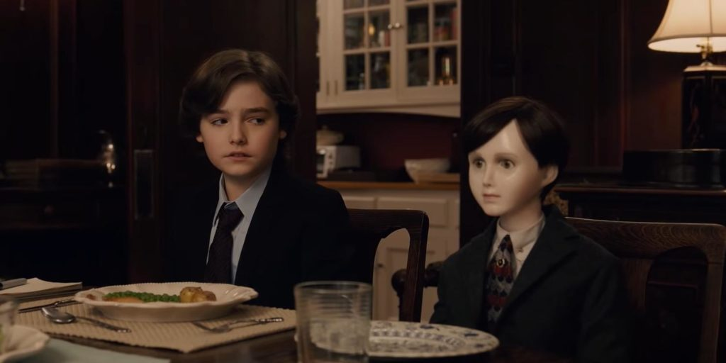 Jude and Brahms in The Boy