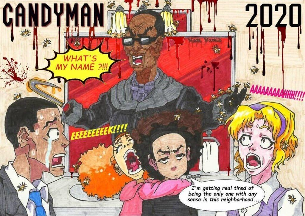 Candyman Original Vs. Remake Horror Movie Talk Illustration