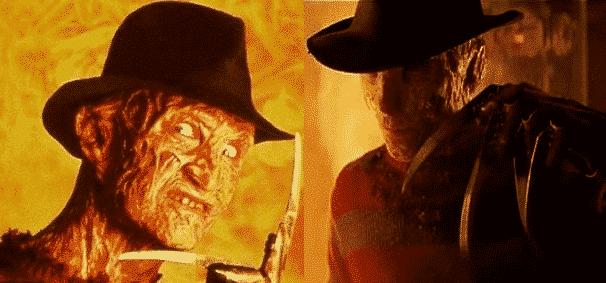Freddy Kruger original vs. new