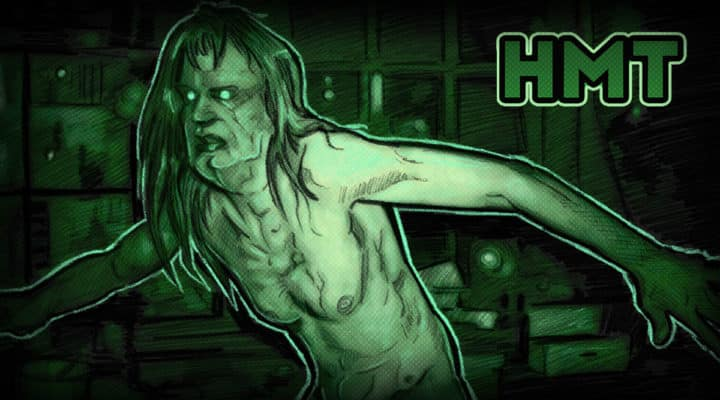 Quarantine hag horror movie talk illustration