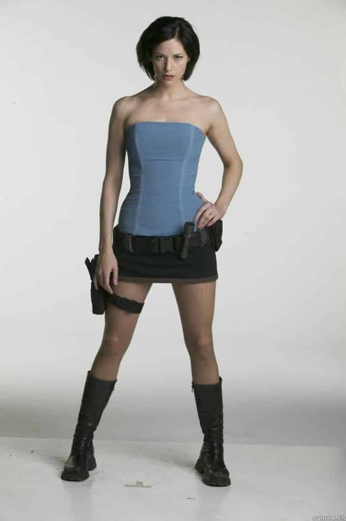 Jill Valentine in the Resident Evil movie