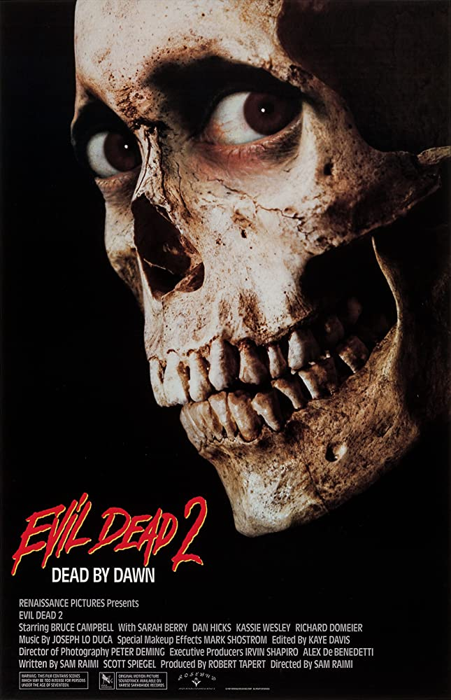 Evil Dead 2 movie poster