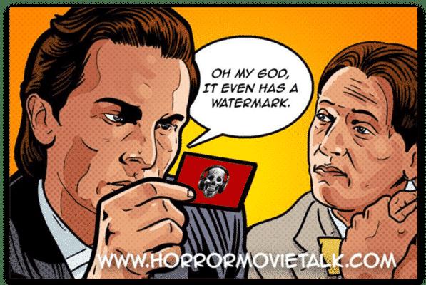 American Psycho Sticker