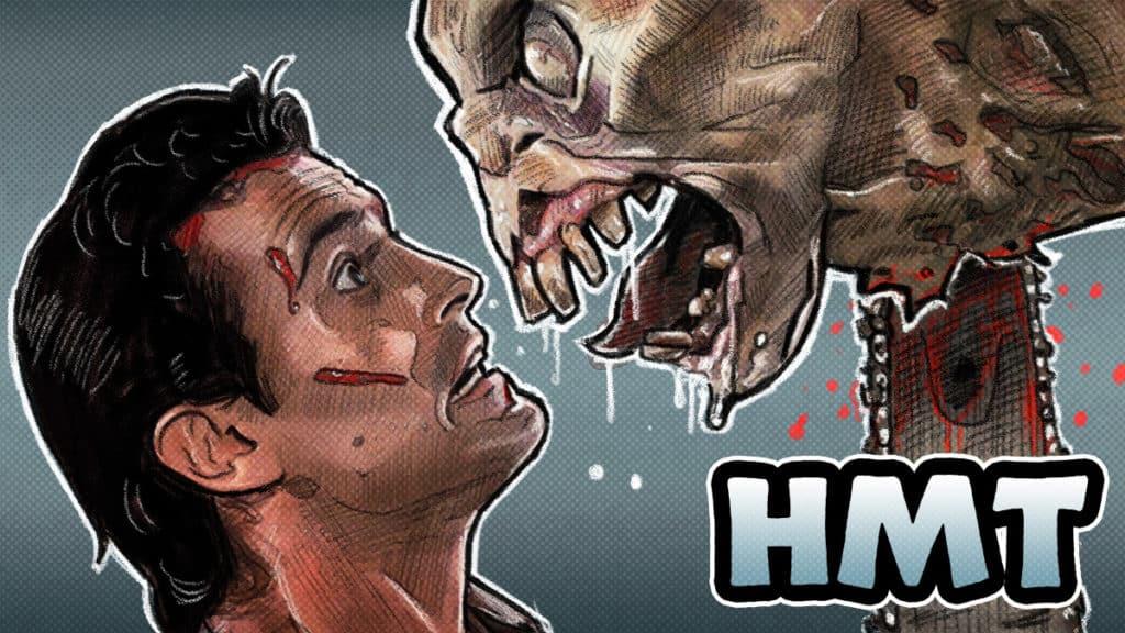 Evil Dead 2 Horror Movie Talk Illustration