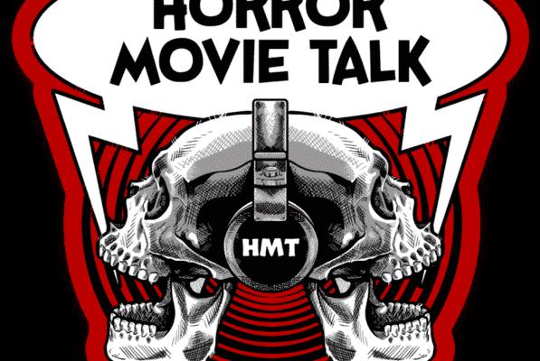 Horror Movie Talk Logo Die Cut Sticker