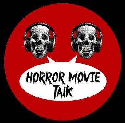 Horror Movie Talk Old Logo Sticker
