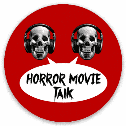 Horror Movie Talk Old Logo Sticker