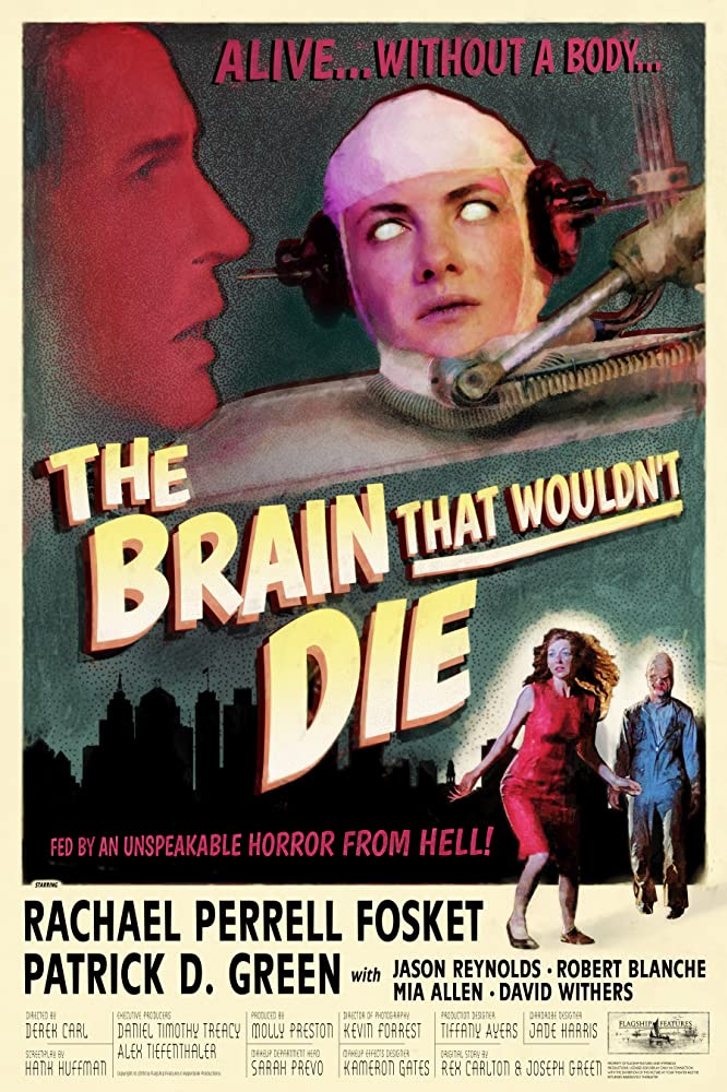 The Brain That Wouldn't Die (2020) Poster