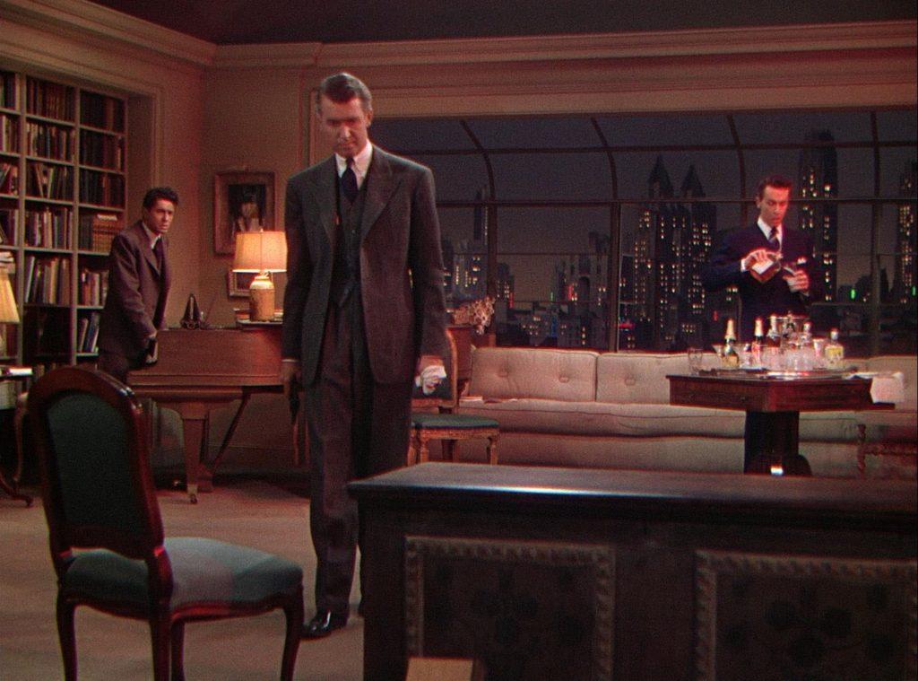 Jimmy Stewart in Rope