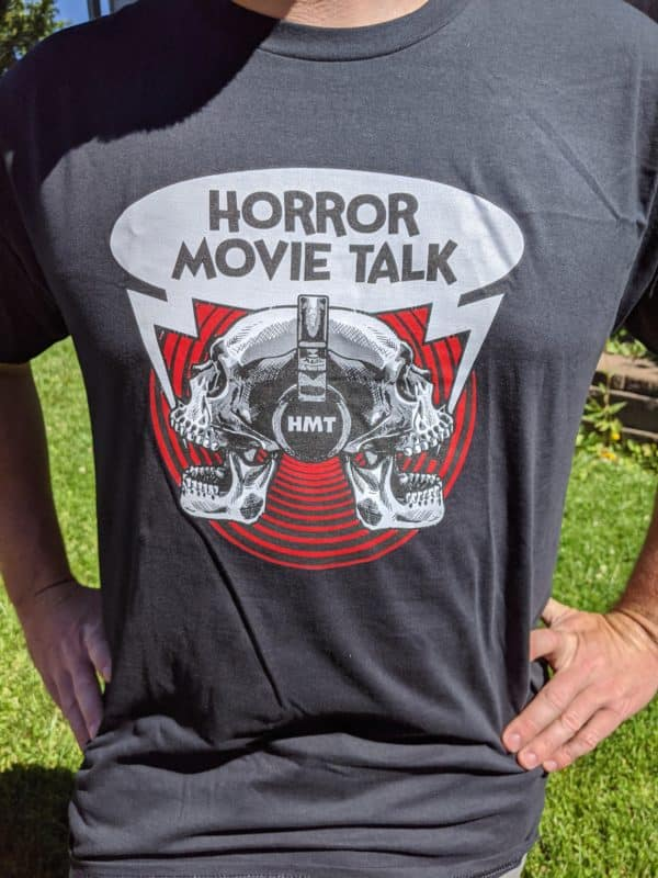 Horror Movie Talk Unisex Black T-Shirt (3)