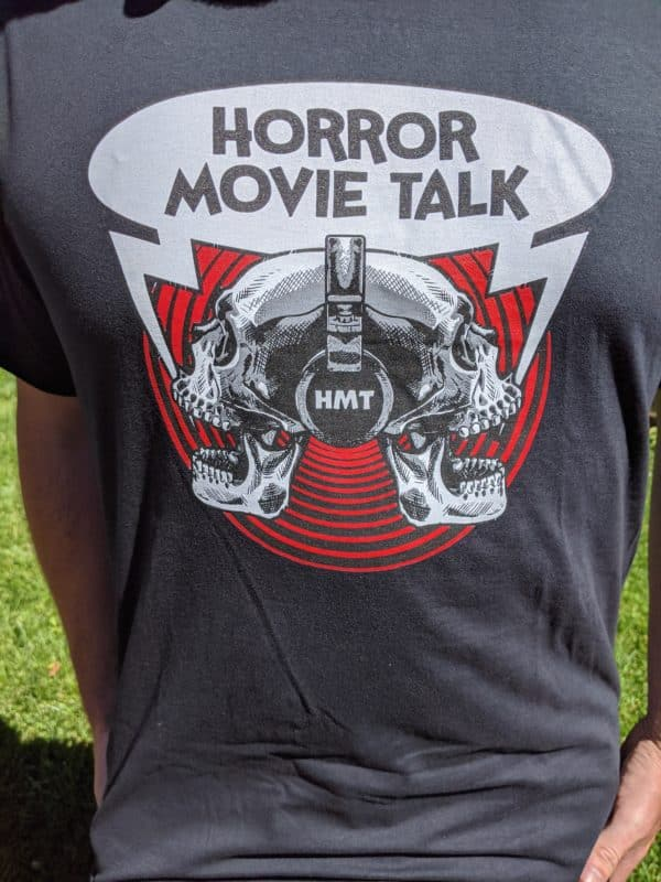 Horror Movie Talk Unisex Black T-Shirt