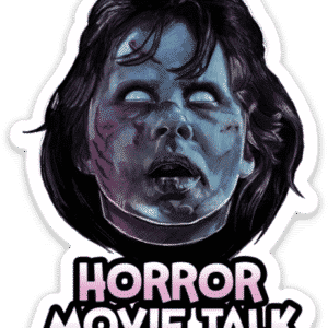 The Exorcist Horror Movie Talk Sticker