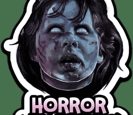 The Exorcist Horror Movie Talk Sticker