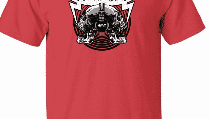 Horror Movie Talk Red Logo Tee