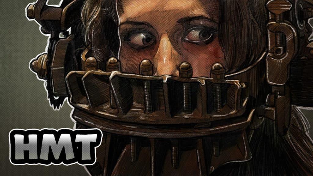 Saw Illustration Horror Movie Talk Podcast