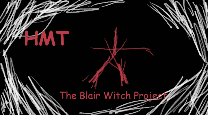 The Blair Witch Project illustration by Horror Movie Talk