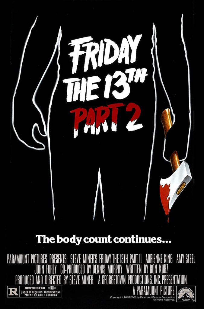 Friday the 13th Part 2 movie poster