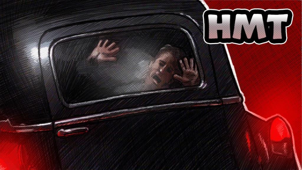 Dead End Horror Movie Talk Illustration