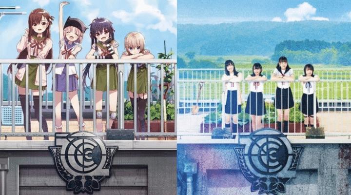 School-Live Anime Vs Film