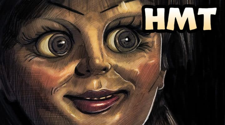 Annabelle Illustration by Horror Movie Talk