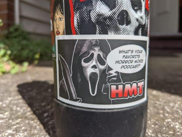 Scream Horror Movie Talk Sticker 1